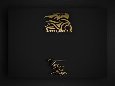 طراحی لوگوی شخصی بهناز شفیعی